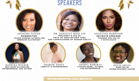 Katrina Walker: Seat At The Table Event Speaker List