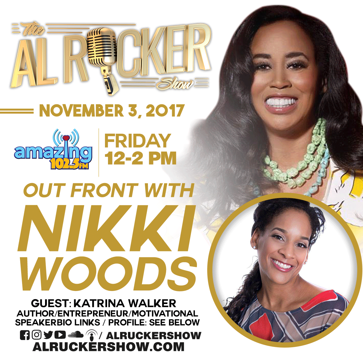 Katrina Walker Interviewed By Nikki Woods: November 3, 2017
