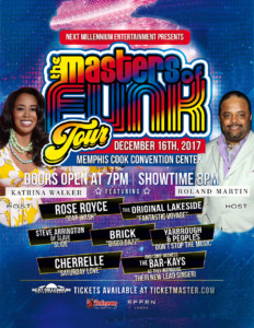Masters of Funk Concert : Memphis, TN December 16, 2017