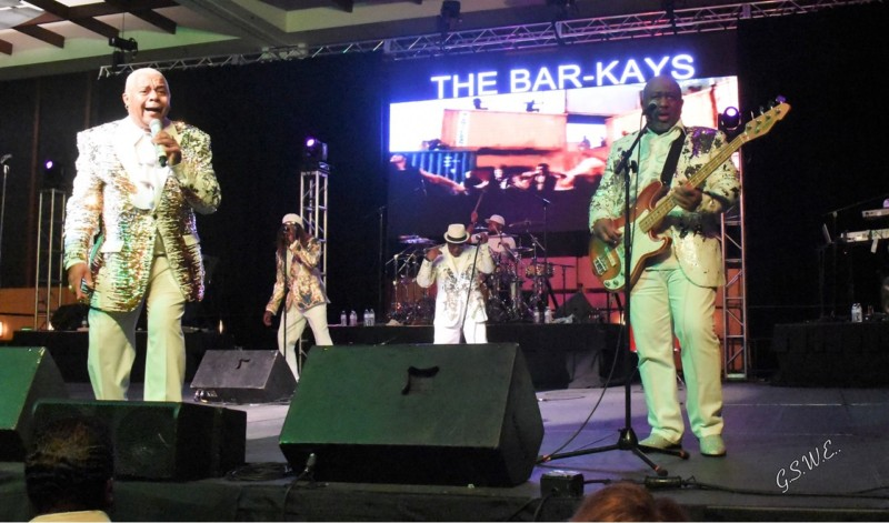 Bar-Kays introduce new lead singer in concert co-hosted by Ms. Katrina Walker